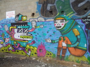 ISRAEL: Streetart Florentin