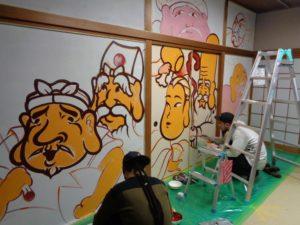 JAPAN: DougoyART Paintaction – Artists Baki Baki & Mon