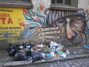 BOLIVIA: Streetart La Paz