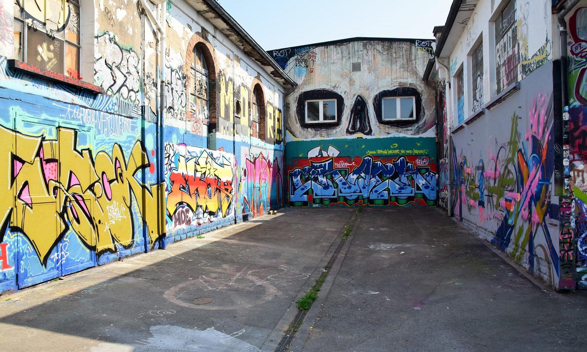 Luxembourg graffiti bonanza
