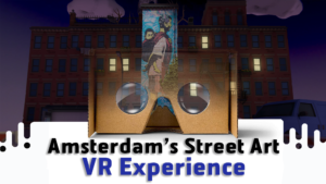 NETHERLANDS: Streetart Museum Amsterdam – Gabriele Romagnoli from GRTalk preserves artworks in Virtual Reality