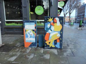 IRELAND: Dublin´s Creative Electricity Boxes