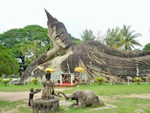 LAOS: Majestic Buddha Park – Xieng Khuan