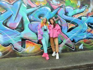 IRELAND: Creative colorful freak out fashion – Ashley Byrne & AB Design