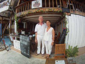 CAMBODIA: Guy & Lea Bardonnet – Delicious Pizza in Paradise