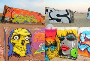 FRANCE: Le Gurp – Bunker Graffiti on the Atlantic coast