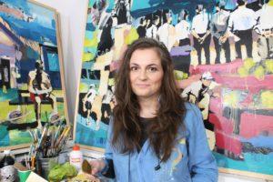 IRELAND: The Icon Factory & The Icon Walk – Artist Aga Szot