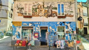 ITALY: Orgosolo's wonderful Picasso-like and protest-laden Murales