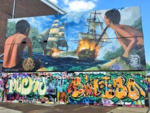 NETHERLANDS: NDSM Wharf in Amsterdam – Industrial Murals and Shipyard Graffiti