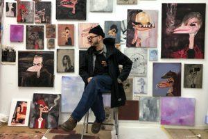 SPAIN: Painter Abdul Vas – A Living Link between Punk Rock and Street Art