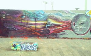 GERMANY: Streetart Berlin – Mauerpark Graffiti Zone at Prenzlauer Berg